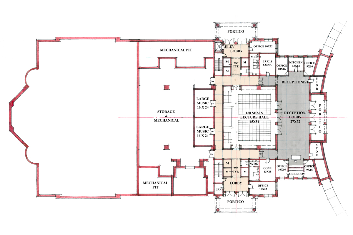 100 Lecture Hall Floor Plan Projects Volker Giencke